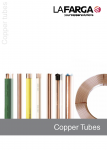 Catalogue de tubes en cuivre